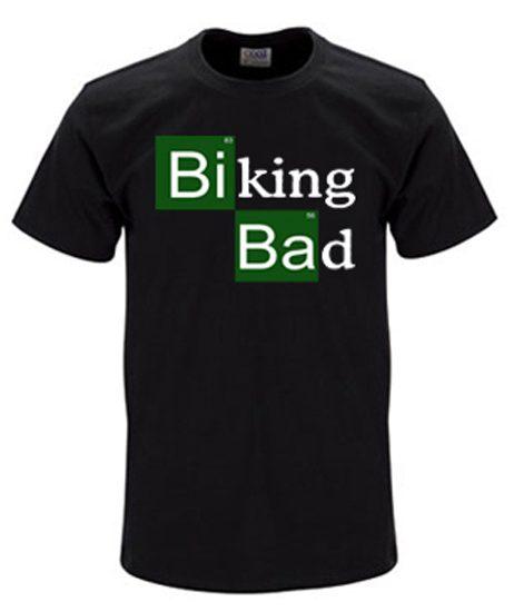 Biking bad t-shirt