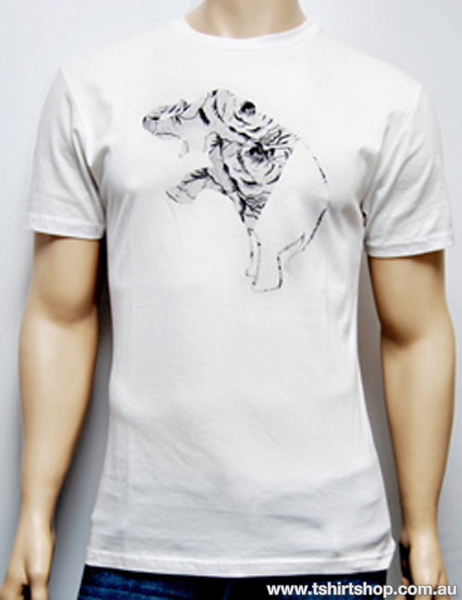 Men 39 s wildlife charity t shirt the t shirt shop for Sell t shirts for charity