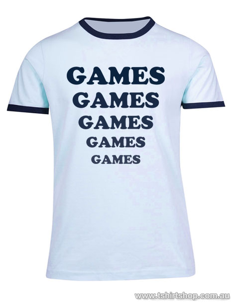 games games games tee