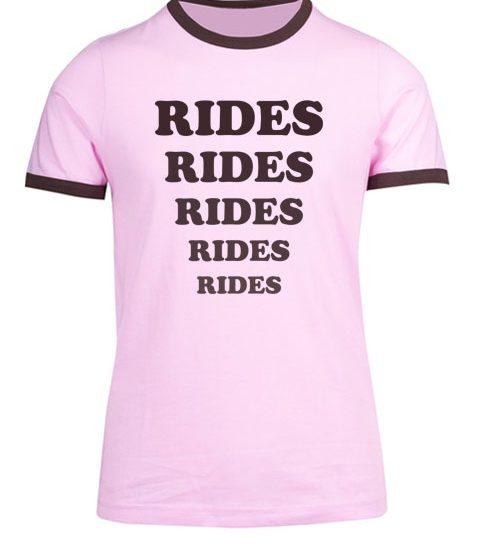 Rides and games t-shirts