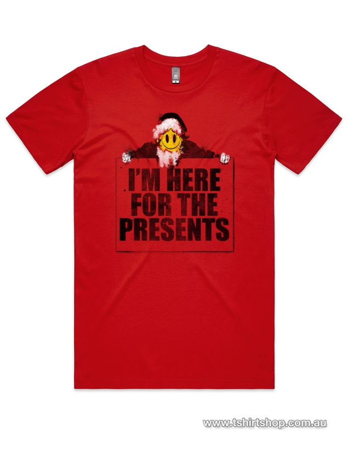 Here for Presents red shirt