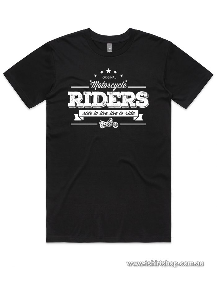 riders club favourite black shirt