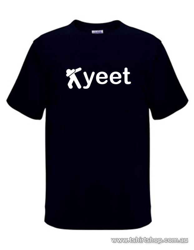 yeet on black