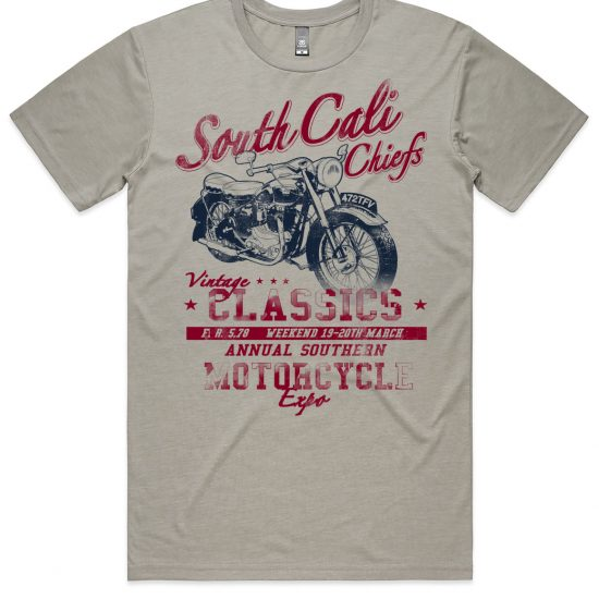 south cali chiefs - light grey t-shirt