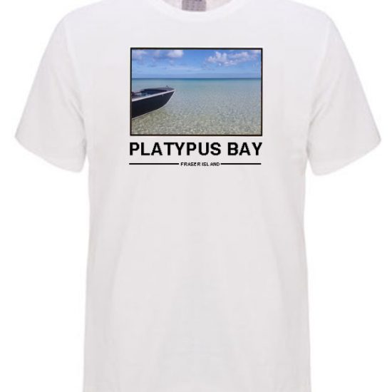 Platypus bay Frasetr island Boating on the bay