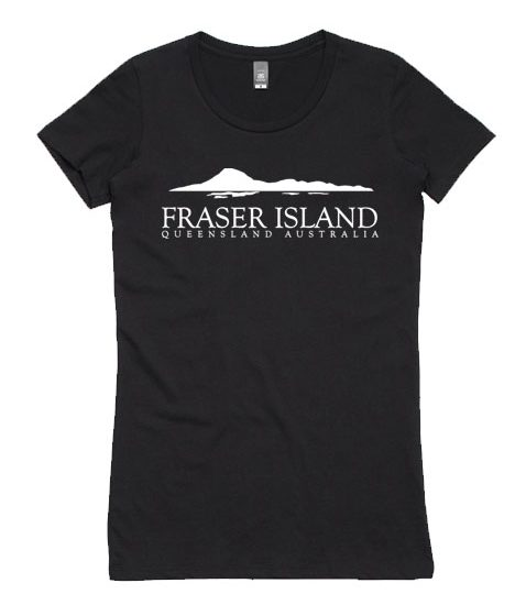 Fraser Island Queensland ladies T-shirt