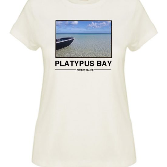 I've Been To Platypus Bay on Fraser Island - And Got This Boating Souvenir Ladies T-Shirts