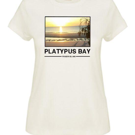 Platypus Bay Sunrise fraser Island T-shirt